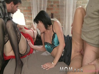 lady mature swingers acquire turns