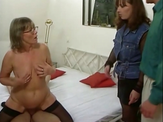 german mom and not her daughter inside some