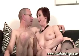 wicked older british bitch in nylons