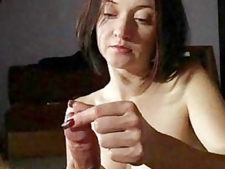 milf maiden gives awesome handjobs