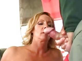 slutty mature lady obtain twice facial