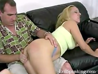 amateur spanking his albino horny housewife