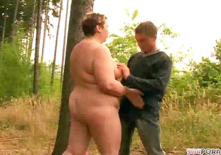 aged big beautiful woman gets drilled by younger