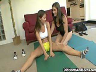 lesbian woman fitness