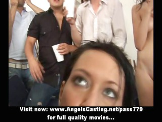 superb sexy young ladys with real tits having an