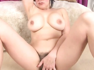 bbw hairy and naughty masturbation