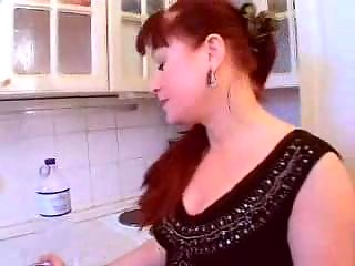 older  redhaired lady gangbangs inexperienced