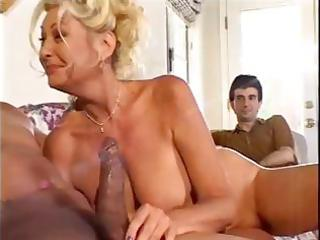 awesome amateur elderly has an interracial