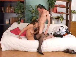 fingering and deep anal porn with bony