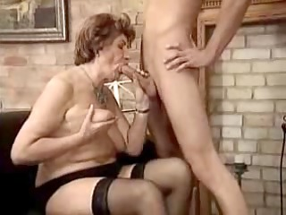 german baroness seducing her attendant