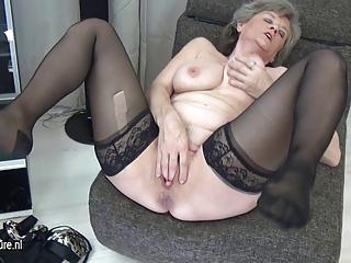 naughty grandma masturbate single