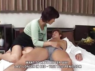 entreats woman and son with vibrator part1