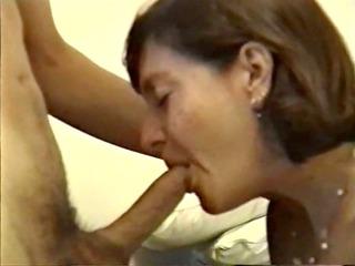 grownup babe giving hot blowjob