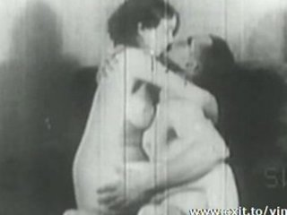 1927 vintage with hirsute housewife and neigbor