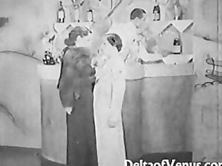 authentic vintage sex 1930s - ffm threesome