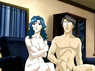 hentai mom awesome licking strong penis and