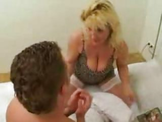 extremely busty mother caught her son reading fuck