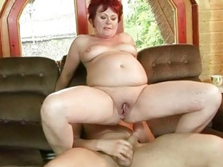 fat grandma gets her tight kitty banged uneasy