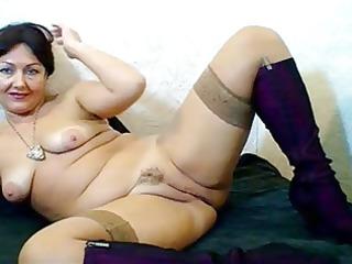 russian hairy webcam lady