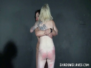 spanking two amateur slavegirls and hardcore
