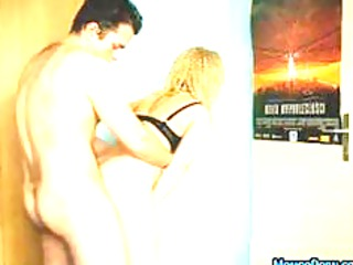beautiful inexperienced woman blond bang difficult