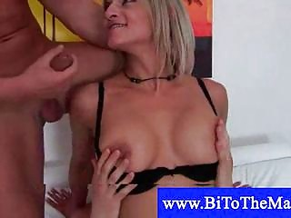 bisexual muscled british copulate his maiden