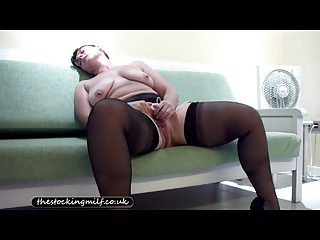 european underwear woman plays her vagina