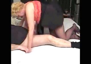 wicked auntie footjob