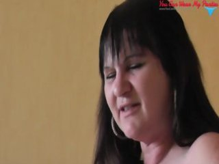 dirty american woman strapon and cumshots covered