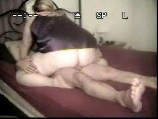 fresh woman inside pantyhose copulates