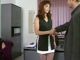 german mom acquiring pierced in the bathroom