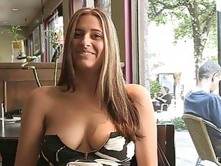 patricia hot lady with sunglasses flashing chest