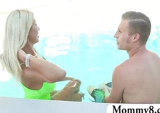her wicked stepmom jerks off her boyfriend