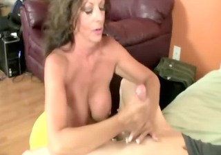 hot mother i tugging cock for this very