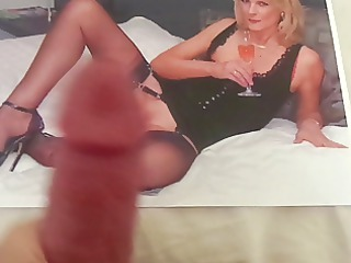 tribute to a hot woman with hot pantyhose feet