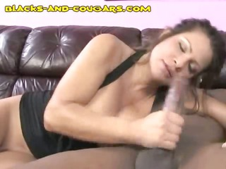 interracial porn with brunette woman