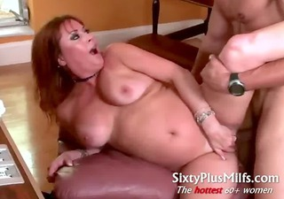 gorgeous sexy milf does muscle lad