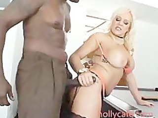 blonde nylons milf acquiring ebony friend deep