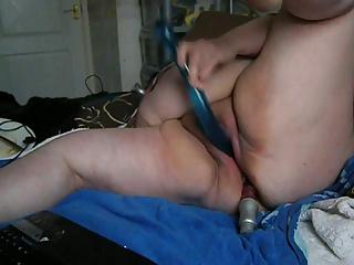 beautiful huge bbobed maiden dildoing