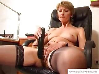cougar stella inside her  masturbation movie