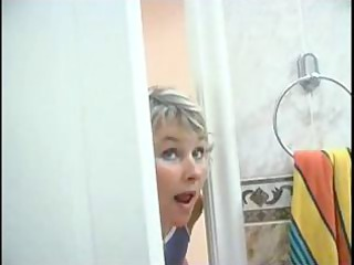 woman spying on son aspiration he was in shower