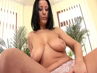 busty woman brenda masturbates  czechsuperstars