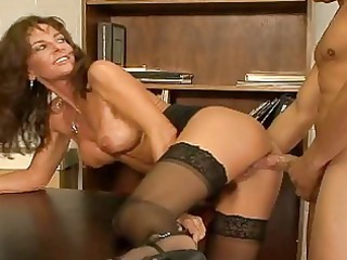 horny mature drill amp in nylons