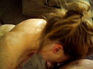 maiden licking and facial