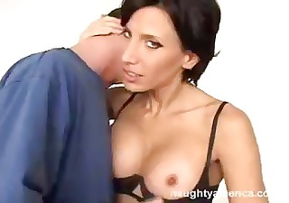 hawt busty brunette hair is this guys st sex