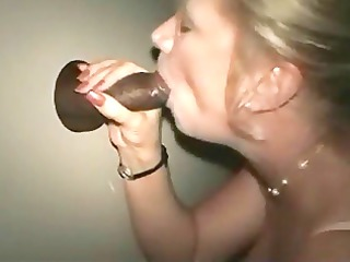 cougar lady at the gloryhole