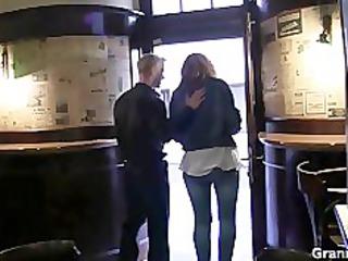 he picks up naughty woman and fucks her hard