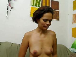 latino woman used