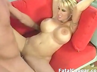 hung boy drills big breast milf into highheels