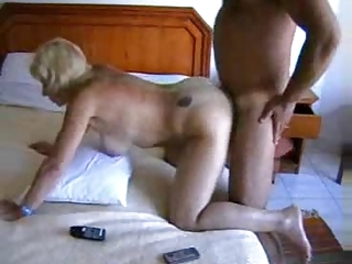 bottom orgazm of a european home housewife
